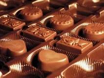 Box of chocolate Royalty Free Stock Photos