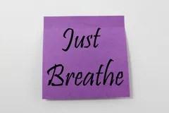 Just Breathe Royalty Free Stock Photo