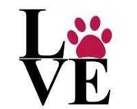 Download Love Paw Print Royalty Free Stock Image - Image: 20773846