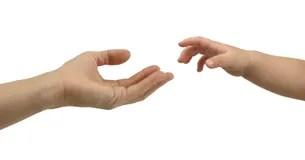 Resultado de imagen de imagen manos niño y adulto
