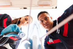 Paramadic first aid Royalty Free Stock Images