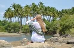 Résultat d'images pour La plage d'Agonda, Goa, Inde