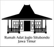 Rumah Adat Batak Vector Traditional House Of Suku Batak Indonesian