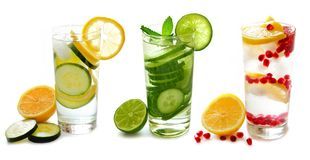 Image result for glasses of water with fruit