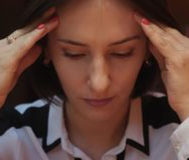 This Video Is About Close Up View Of Young Woman Closing Her Eyes Touches Her
