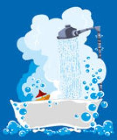 Image result for clipart shower steam