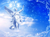 Winter angel Royalty Free Stock Image