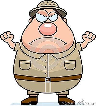 zookeeper cartoon 恼怒的探险家 14249477 jpg