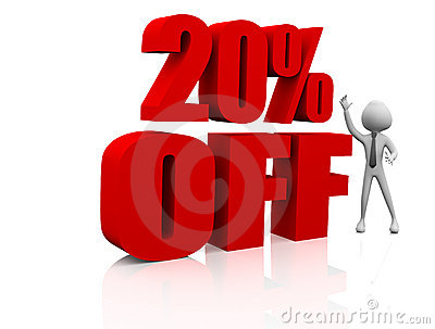 20 Discount Stock Photography Image 18720062