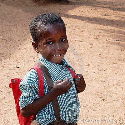 African School Boy Editorial Photography Image 9830202
