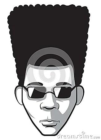 Afro Man Stock Photos Image 35204183