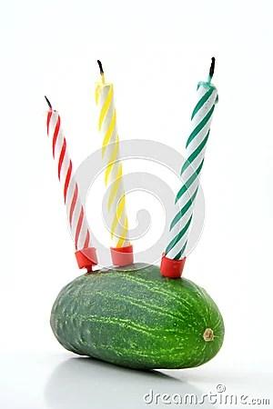 Aniversário saudável feliz!