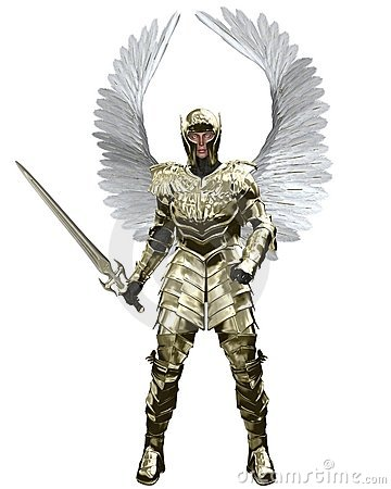 "ALT=""Archangel Michael on Men gone to waste"""