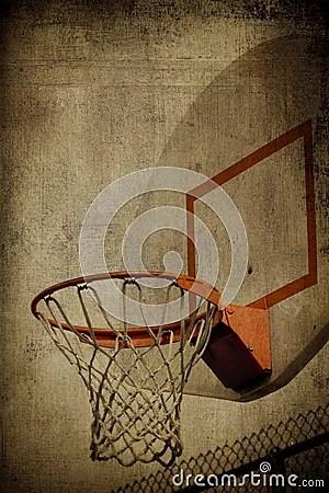 Basketball Basket Grunge Stock Photos Image 8195473