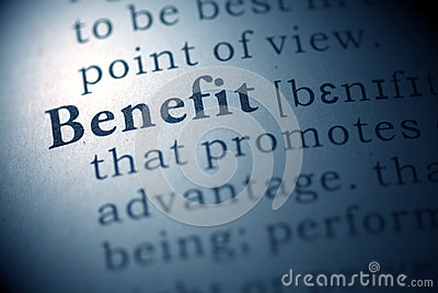 Benefit Stock Image - Image: 31592611