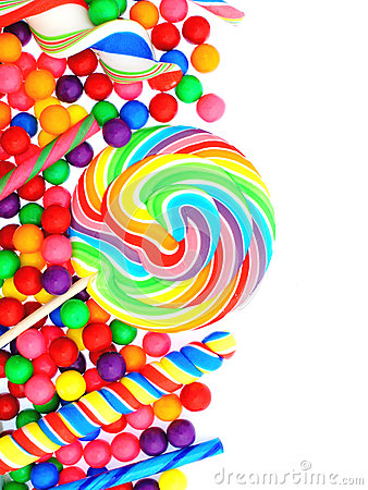 Candy Border Stock Photography Image 30608692