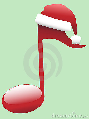 Carol Musical Note For Holiday Christmas Music Royalty
