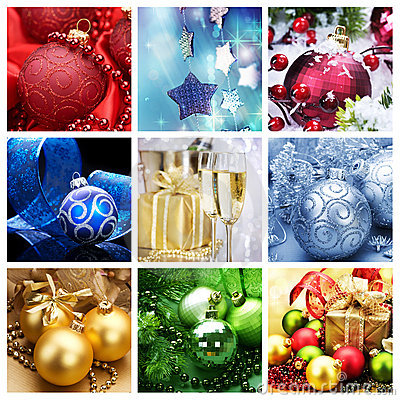 Christmas Collage Stock Images Image 16913384