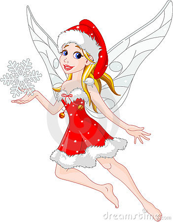 Christmas Fairy Stock Photography Image 7115542