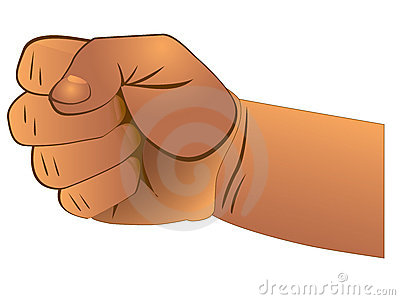 closed fist royalty free stock image image 16302526