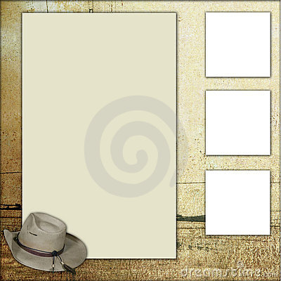 Country Theme Scrapbook Frame Template Royalty Free Stock Photo Image 1120665