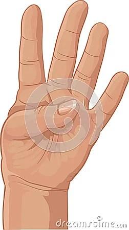 4 dedos para nuestro 4º cumpleaños