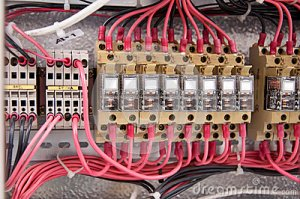 Electrical Wiring Control Panel Diagram Royalty Free Stock Image  Image: 31168876