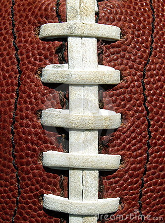 Football Laces Stock Image Image 190711