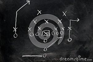 Football X's And O's Stock Photo  Image: 8752900