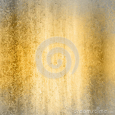 Gold Background With Gray Frame Stock Photography Image
