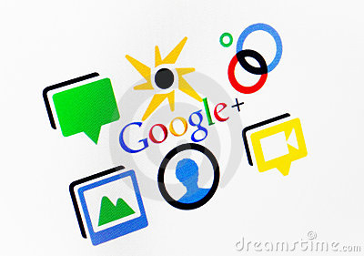 Google Plus Editorial Photo