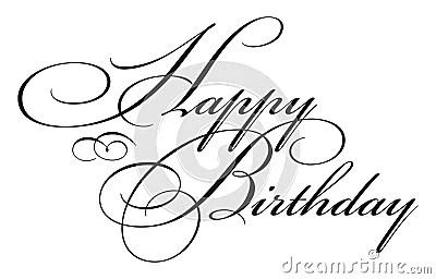 Happy Birthday Type Stock Photo Image 5033020