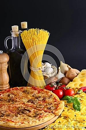Italian Food Royalty Free Stock Photography Image 18855047