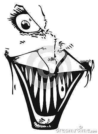 Joker Face Stock Images Image 12998084