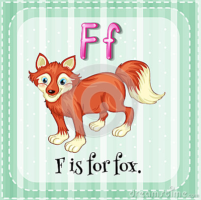 Letter F Stock Vector Image 54331160