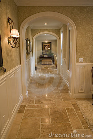 Luxury Home Hallway Royalty Free Stock Image Image 3578476