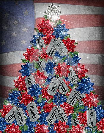 Military Christmas Tree Stock Photos Image 34945883