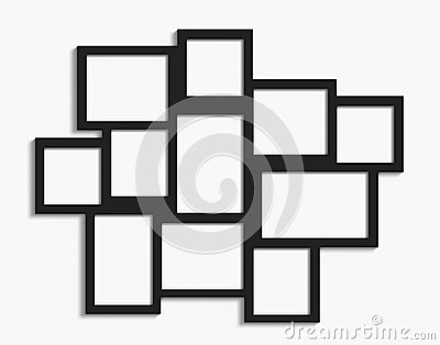 Exelent Multiple Photo Picture Frames Illustration - Frames Ideas ...