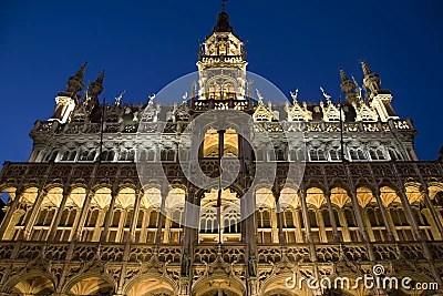 Musee De La Ville De Bruxelles Front View Stock Photos Image 10686263