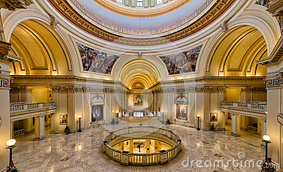 Oklahoma State Capitol Building Editorial Image Image