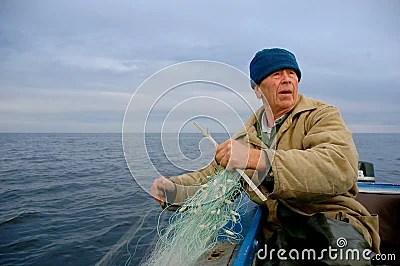 Old Fisherman Stock Photos Image 9941763