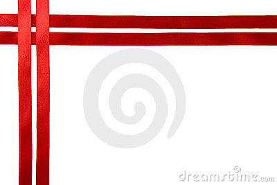 Red Ribbon Border Royalty Free Stock Photo Image 8337515
