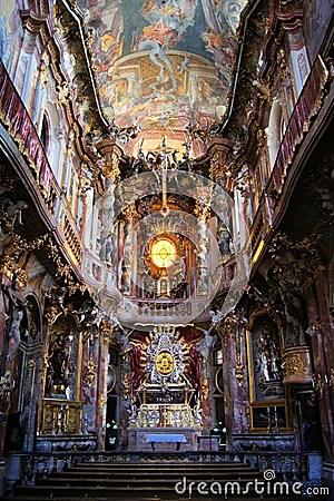 Rococo Church Interior Munich Stock Photos Image 26330273