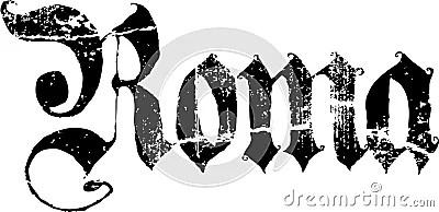 Roma sign