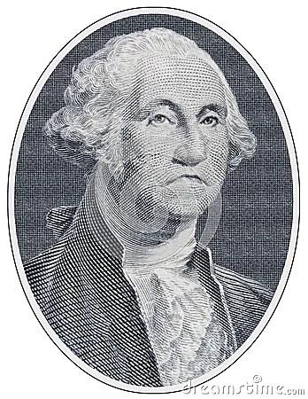 Sad George Washington