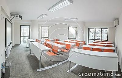 Salle De Classe Moderne Photo Stock Image 49866817