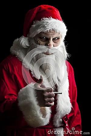 Scary Santa Stock Images Image 17297624