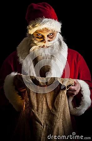 Scary Santa Stock Photos Image 17308903