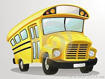 School Bus Vector Cartoon Stock Vector Image 59699881