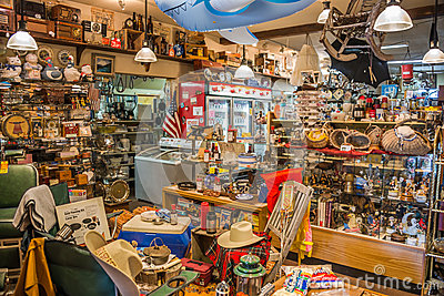Second Hand Country Store Interior Editorial Photo Image